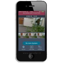 Pohybový senzor - drátový - WPIR0814 pro alarm, GSM alarm