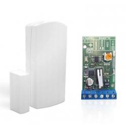 Magnetický detektor otevření dveří nebo oken drátový WDM01 pro alarm, GSM alarm
