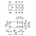 Klíčenka (dálkové ovládání) RM17