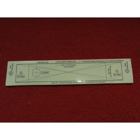 Blikající poplachová signalizace drátová - pro venkovní použití - SB03  - oranžová