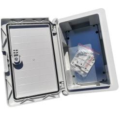 SIG12VRED-HBS1 - LED signálka do panelu 12V červená