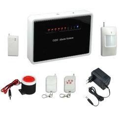 Bezdrátový PIR detektor pohybu, včetně napájecích baterií s potvrzovaným radiovým přenosem mezi detektorem a ústřednou
