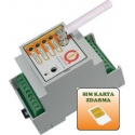 Vodotěsná venkovní kódová klávesnice W1 s čtečkou RFID čipů